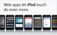 iPod touch_Web apps