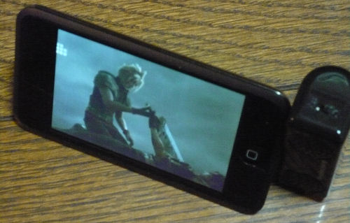 iPod touch+スピーカー3