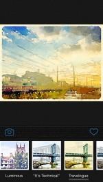Waterlogue : 簡単に撮った写真から味のある水彩画ができてしまうカメラアプリ
