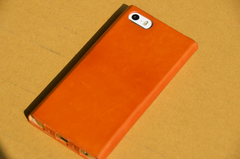 GRAMAS One-Sheet Leather Case LC614 for iPhone5/5s
