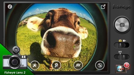 魚眼カメラ (Fisheye Pro)