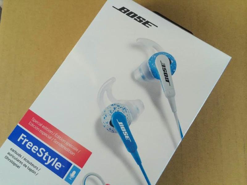 Bose FreeStyle earbuds : 夏っぽいデザインに惹かれて初BOSE!インイヤータイプのヘッドホン購入