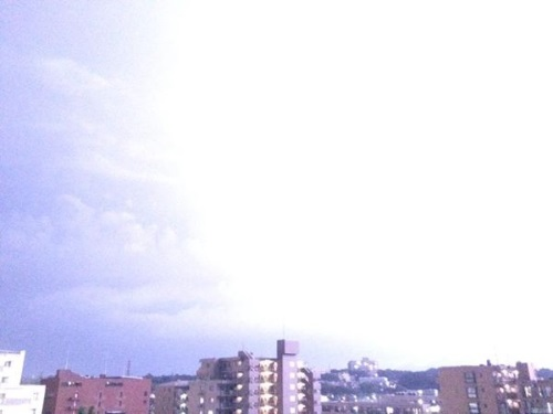 iPhoneで雷撮影