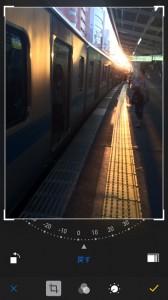 iOS8 カメラ傾き