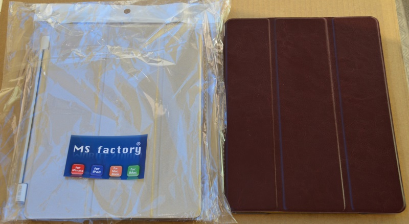 [MS factory] iPad mini 3 / mini 2 Retina 用 スマートカバー + バックカバーセット (オートスリープ機能対応)